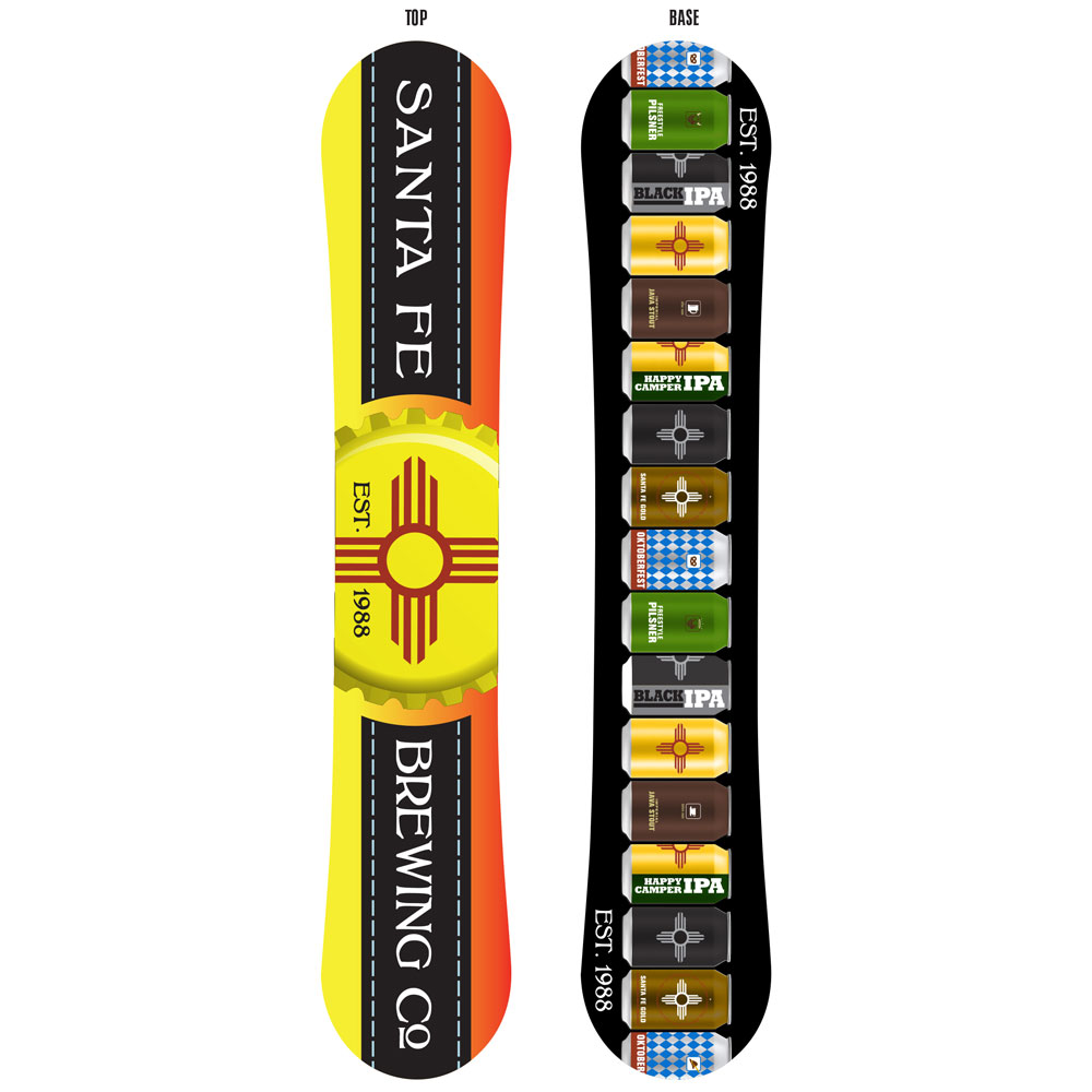 second street brewery snowboard