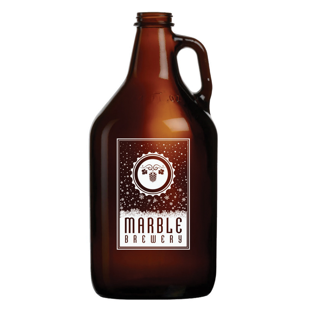 Monsoon Design | Brewery Merchandise Growlers