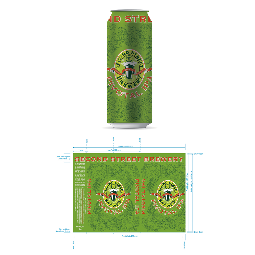 Monsoon Design | Craft Beer Cans