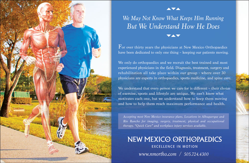 NM Orthopaedic ad